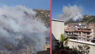 Habib-i Neccar Dağında yine orman yangını