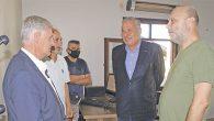 Yılmaz ve Mursaloğlu gazetemizi ziyaret etti