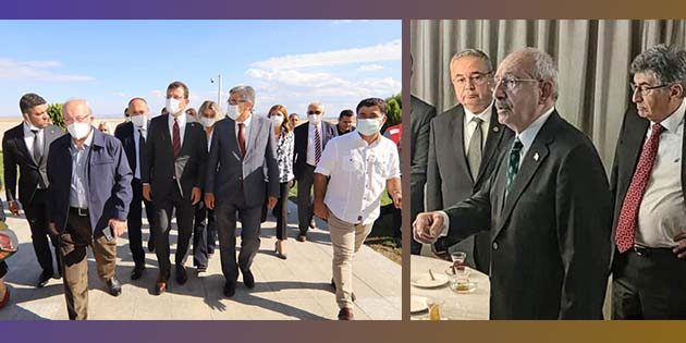 Kılıçdaroğlu, Parlar'ı yanından ayırmadı