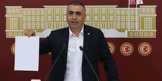 MHP'li Kaşıkçı'dan savunma protestosu