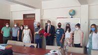 CHP'li Vekil Güzelmansur, yüz yüze eğitimin ilk günü…