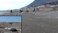 Samandağ sahili kirli!