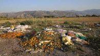 Milleyha Sulak Alanı etrafına çöp ve moloz döküldü
