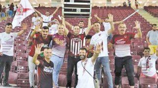 Hatay-Gaziantep maçında seyirci durumu